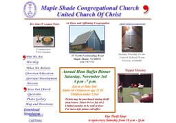 Maple Shade Congregational Church United Church of Christ