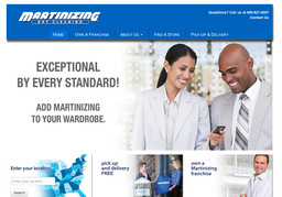 Dry Cleaning by Martinizing