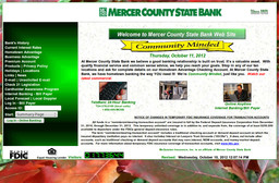 Mercer County State Bank On Franklin Rd In Mercer Pa 724 662 3131