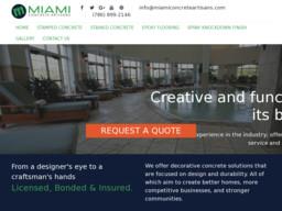 Miami Concrete Artisans