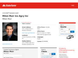 Milon Muir State Farm Insurance