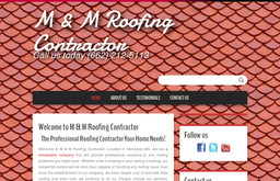 M Amp M Roofing Contractor On Madison Cir In Hernando Ms