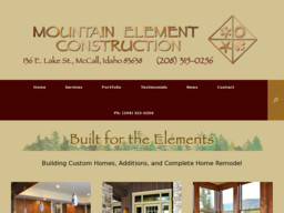 Mountain Element Construction