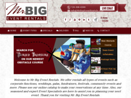 Mr Big Event Rentals On Industrial Ln In Broomfield Co