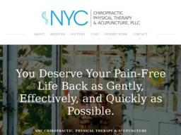 NYC Chiropractic, Physical Therapy & Acupuncture Pllc.