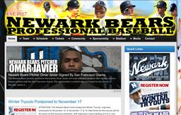 The Newark Bears Professional Baseball Club