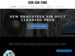 New Braunfels Air Duct Cleaning Pros