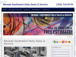 Nevada Southwest Holly Sales & Service