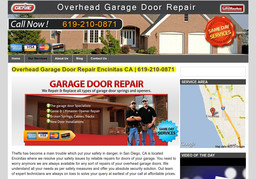 Overhead Garage Door Repair In Encinitas Ca 619 210