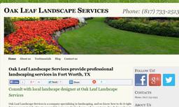 Oak Leaf Landscape Service