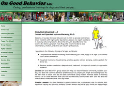 On Good Behavior - LLC