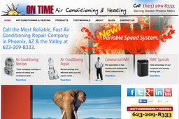 On Time Air Conditioning & Heating, Inc.