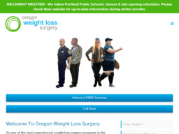 Oregon Weight Loss Surgery