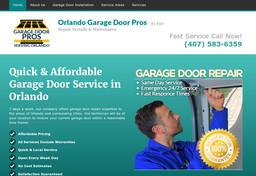 Orlando garage door pros on pine hills rd in orlando fl for Garage door service orlando