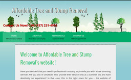 Affordable Tree and Stump Removal