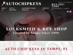 Auto Chip Keys