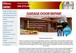 Automatic Garage Door Phoenix On Chandler Blvd In Phoenix