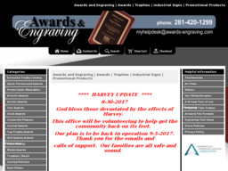 Awards & Engraving