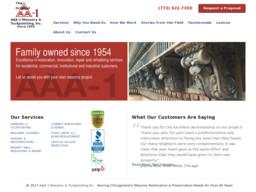 AAA-1 Masonry & Tuckpointing, Inc.