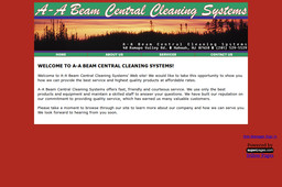 A - A Beam Central Cleaning Systems