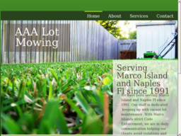 Aaa Naples Fl >> Aaa Lot Mowing Inc On 66th Ave In Naples Fl 239 352 1137 Lawn