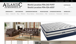 Atlantic Bedding And Furniture Jacksonville In Jacksonville Fl 904 524 6037 Furniture