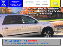ab tower taxi cab of the south shore on washington st in braintree ma 781 848 3300 usa business directory cmac ws ab tower taxi cab of the south shore on
