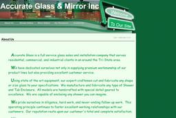 Accurate Glass & Mirror Inc