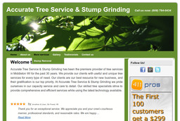 Accurate Tree Service & Stump Grinding