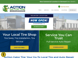 Action Gator Tire On Lee Rd In Orlando Fl 407 299 1900