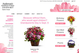 Anderson's Greenhouse & Florist