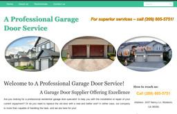 A Professional Garage Door Service