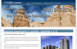 Arizona Bankruptcy Lawyer