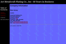 Art Metalcraft Plating Co Inc