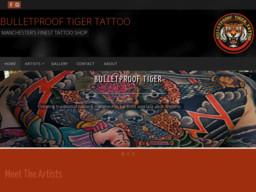 Bulletproof Tiger Tattoo