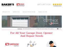 Baker's Garage Doors Inc