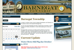 Barnegat Township - Civil Defense Board - Clerk - Municipal Offices - Water & Sewer Collec