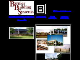 Barnier Building Systems Inc