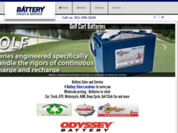 Battery Sales & Service