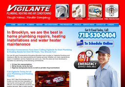 Vigilante Plumbing, Heating And Air Conditioning