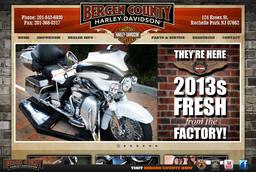 Bergen County Harley - davidison/bule