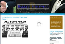 Barry MFG Better Menswear Wholesale To You on Brainerd Rd in