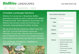 BidRite Landscapes