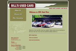 Bill's Used Cars
