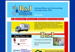 B & J Plumbing Plumbing, Heating and Air