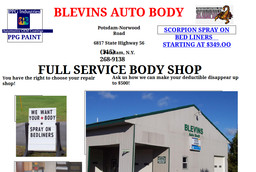 Blevins Potsdam Ny >> Blevins Auto Body Car Rental In Potsdam Ny 315 268 9138
