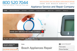 Bosch Appliances Repair On Whipple St In Los Angeles Ca