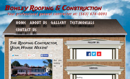 Bowley Roofing Amp Construction On Parkway Dr In Blue Grass