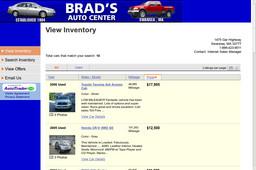 Brad's Auto Sales