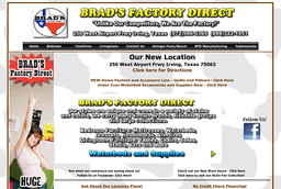 Brad's Factory Direct Waterbeds